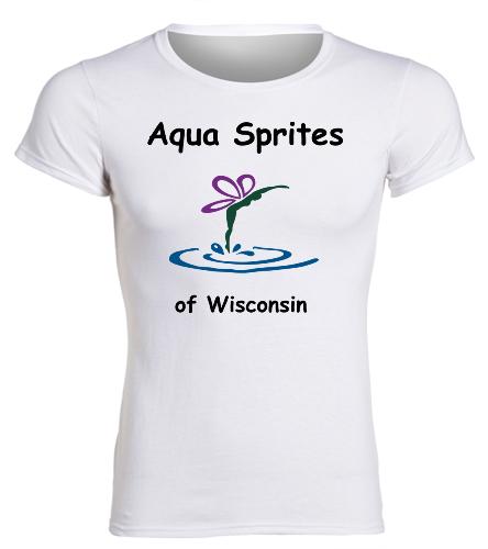 White Cotton ASW - SwimOutlet Women's Cotton Missy Fit T-Shirt