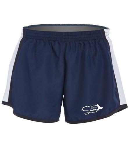 Aqua Sprites Synchronized Swim Club Inc - SwimOutlet Custom Unisex Team Pulse Short
