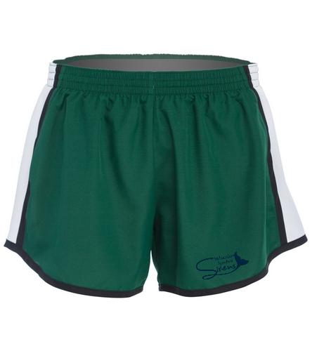 Green Short - SwimOutlet Custom Unisex Team Pulse Short
