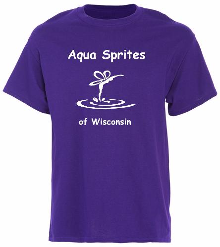 Purple T-Shirt - SwimOutlet Unisex Cotton T-Shirt - Brights