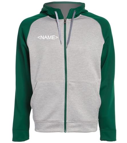 Adidas Hoodie - Adidas Men's Team Issue Full Zip Fleece