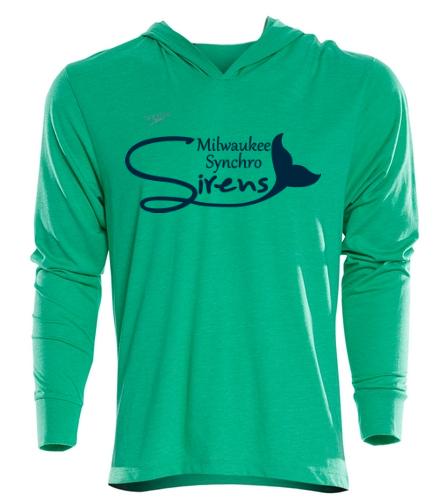 Green Sweatshirt MLS - Speedo Unisex Pride Pull Over Hoodie Sweatshirt