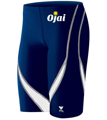 Ojai Jammer Top Logo  - TYR Alliance Splice Jammer Swimsuit