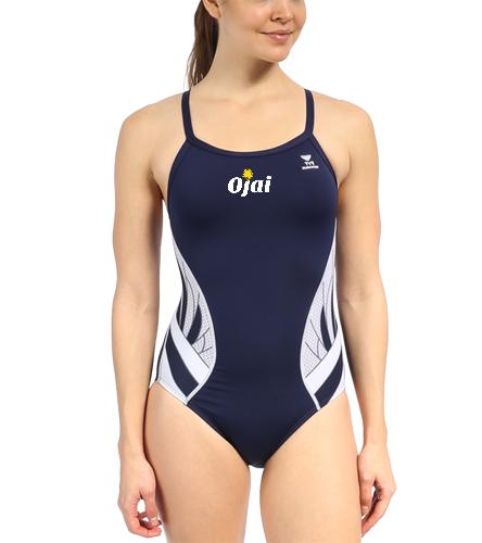 Ojai Competition Suit  - TYR Women's Phoenix Splice Diamondfit One Piece Swimsuit