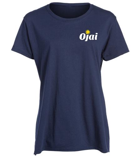 Ojai Shirt Women - SwimOutlet Women's Cotton Missy Fit T-Shirt