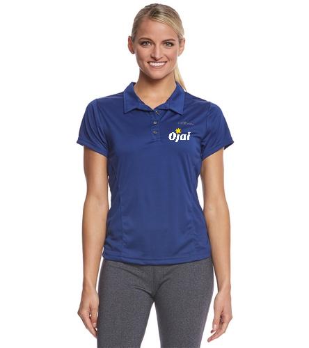 Ojai Coaching Shirt Women - Dolfin Women's Performance Polo Shirt
