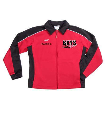 Buckeyes - Speedo Streamline Youth Warm Up Jacket