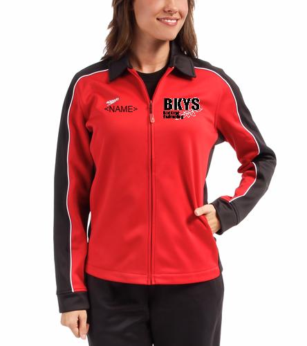 Buckeyes - Speedo Streamline Female Warm Up Jacket