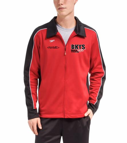 Buckeyes - Speedo Streamline Male Warm Up Jacket