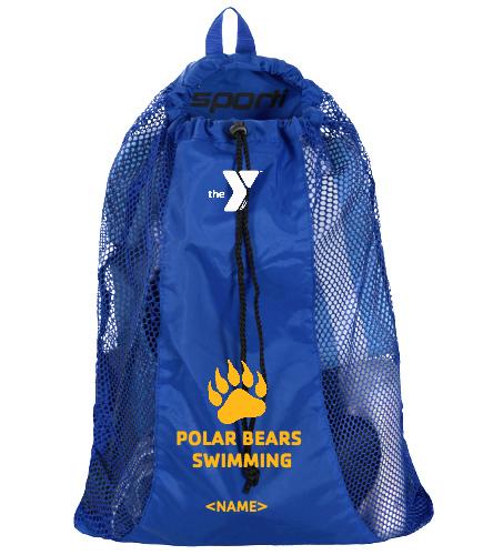 Polar Bears Mesh Bag - Sporti Premium Mesh Backpack