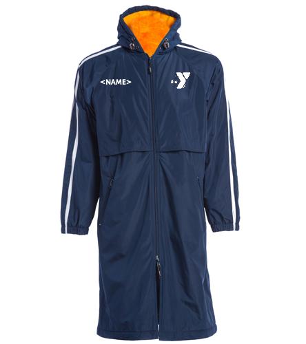 Polar Bears Parka Navy/Gold - Sporti Striped Comfort Fleece-Lined Swim Parka