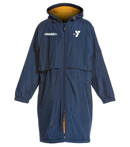 Polar Bears Parka Youth Navy/Gold - Sporti Comfort Fleece-Lined Swim Parka Youth