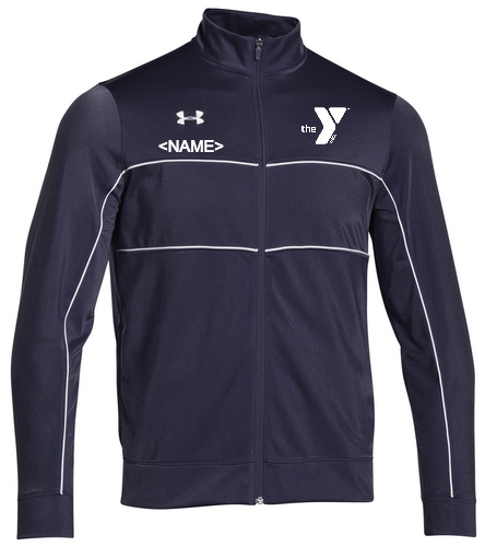 YMCA Warm Up Jacket - Under Armour Men's Rival Knit Warm-Up Jacket