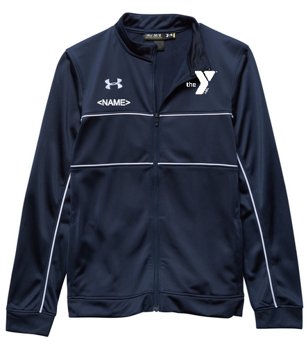 YMCA Youth Warm Up Jacket - Under Armour Youth Rival Knit Warm-Up Jacket