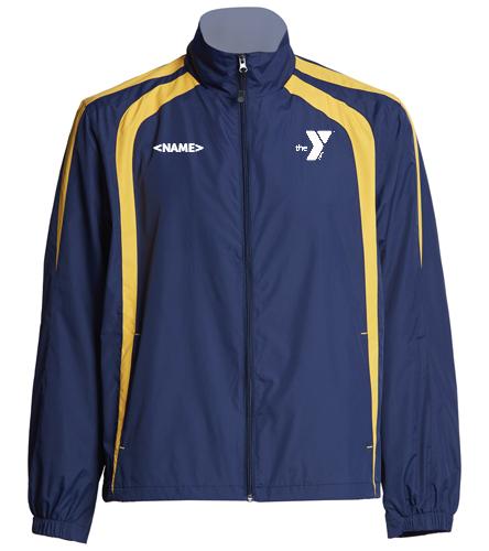 Polar Bears Blue&Gold Jacket - SwimOutlet Unisex Warm Up Jacket