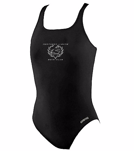 NLSC - Arena Youth Madison Swim-Pro Back - Arena Girls' Madison Athletic Thick Strap Racer Back One Piece Swimsuit