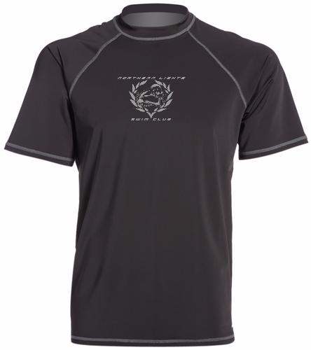 NLSC Black - Sporti Men's S/S UPF 50+ Swim Shirt - Sporti Men's S/S UPF 50+ Swim Shirt