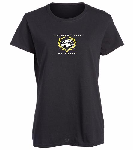 NLSC - Heavy Cotton Missy Fit T-Shirt - SwimOutlet Women's Cotton Missy Fit T-Shirt