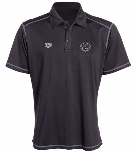 Coach Polo Black - Arena Camshaft USA Unisex Polo Shirt - Arena Camshaft USA Unisex Polo Shirt