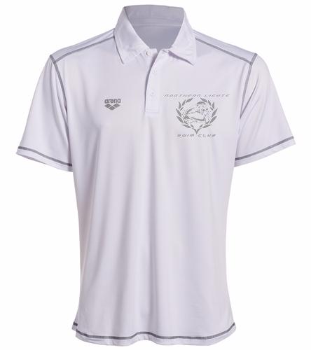 Coach Polo White - Arena Camshaft USA Unisex Polo Shirt - Arena Camshaft USA Unisex Polo Shirt