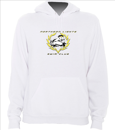 NLSC White - California Fleece Pullover Hoodie - SwimOutlet Unisex California Fleece Pullover Hoodie