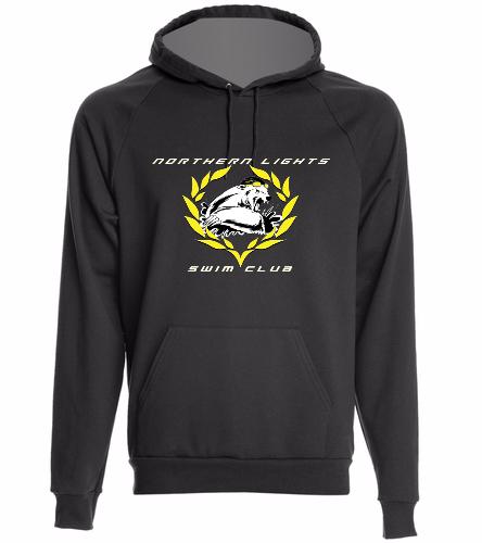 NLSC Hoodie Black - California Fleece Pullover Hoodie