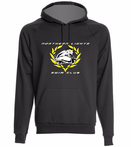 NLSC Hoodie Black - SwimOutlet Unisex California Fleece Pullover Hoodie