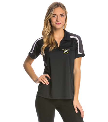 NLSC Polo -  - SwimOutlet Women's Tech Polo