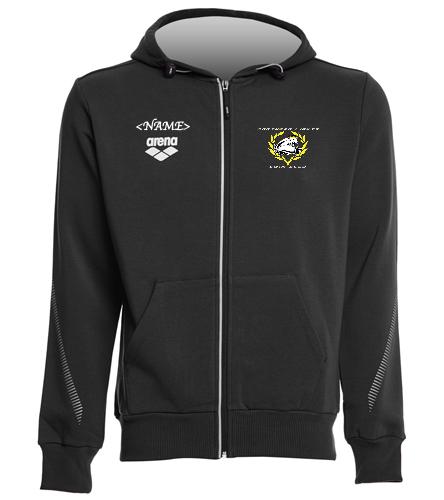 NLSC Hooded Warm-up - Arena Unisex Team Line Fleece Hooded Jacket