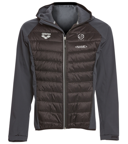 NLSC Puffy Jacket - Arena Unisex Team Line Quilted Soft Shell Jacket