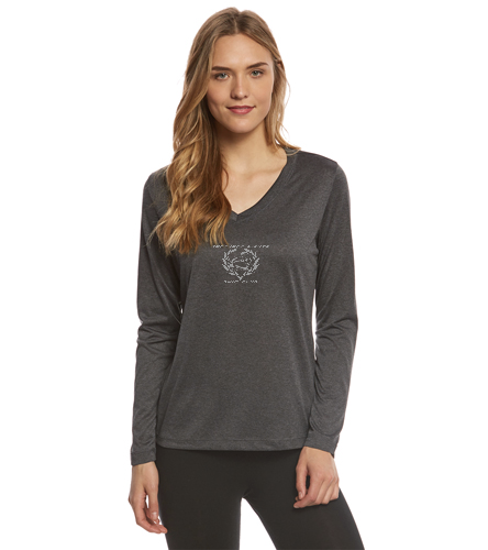 NLSC - Women's Long Sleeve Tech T Shirt - SwimOutlet Women's Long Sleeve Tech T Shirt