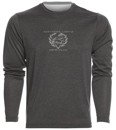 NLSC - Men's Long Sleeve Tech T Shirt - SwimOutlet Men's Long Sleeve Tech T Shirt
