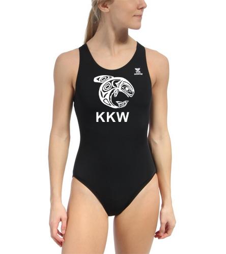 KKW TYR Durafast Maxfit - TYR Durafast Solid Maxfit One Piece Swimsuit