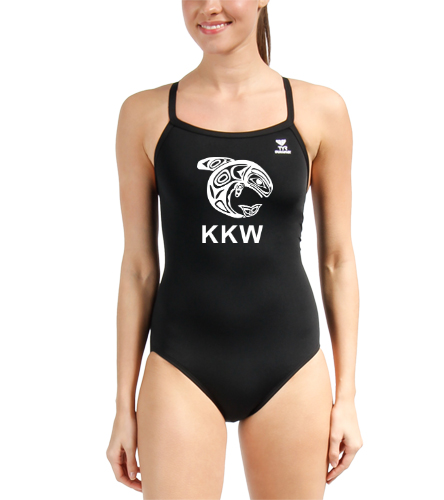 KKW TYR Durafast Diamondfit - TYR Durafast Solid Diamondfit One Piece Swimsuit