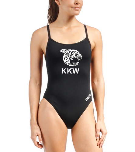 Arena Mast suit - Arena Women's Mast MaxLife Thin Strap Open Racer Back One Piece Swimsuit