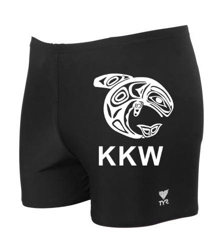 KKW TYR Square Leg - TYR Men's TYReco Square Leg Swimsuit