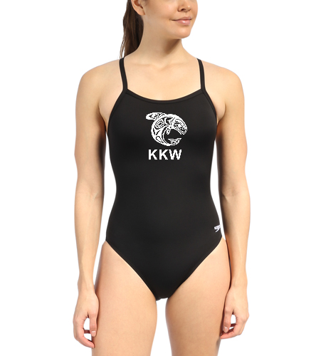 womens suit - Speedo Solid Endurance + Flyback Training One Piece Swimsuit