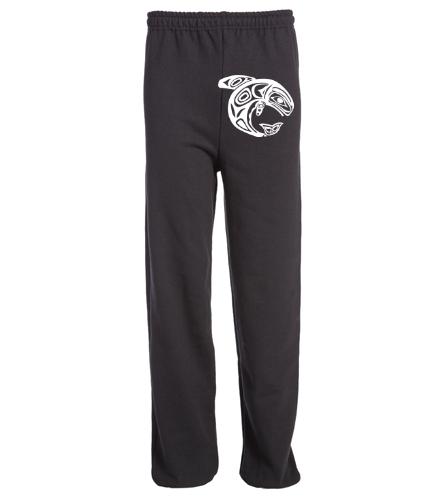 KKW Adult Sweatpant - Black - SwimOutlet Heavy Blend Unisex Adult Sweatpant