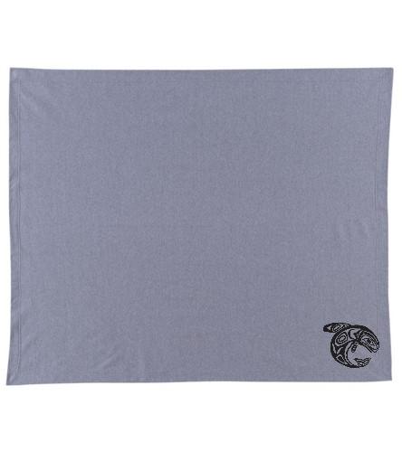 KKW Blanket - Gray/Black - SwimOutlet Stadium Blanket