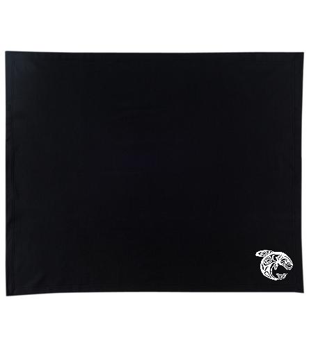 KKW Blanket - Black/White - SwimOutlet Stadium Blanket