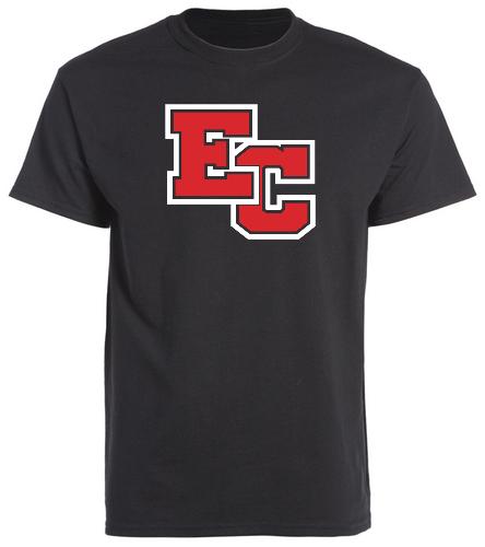 Black EC  - SwimOutlet Cotton Unisex Short Sleeve T-Shirt