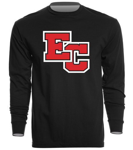 East Central High School- Indiana  - SwimOutlet Unisex Long Sleeve Crew/Cuff