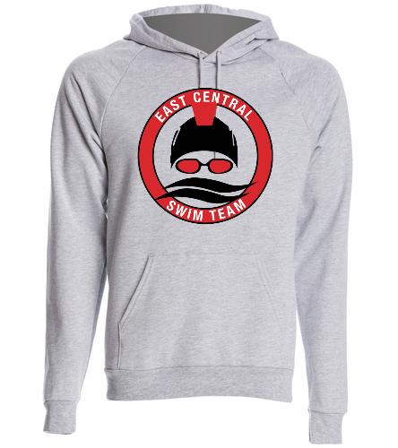 Grey Hoodie ECST - SwimOutlet Unisex California Fleece Pullover Hoodie