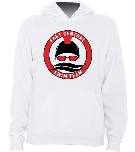 White ECST - SwimOutlet Unisex California Fleece Pullover Hoodie