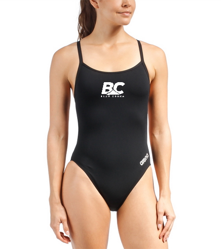 BCA Mast One - Arena Women's Mast MaxLife Thin Strap Open Racer Back One Piece Swimsuit