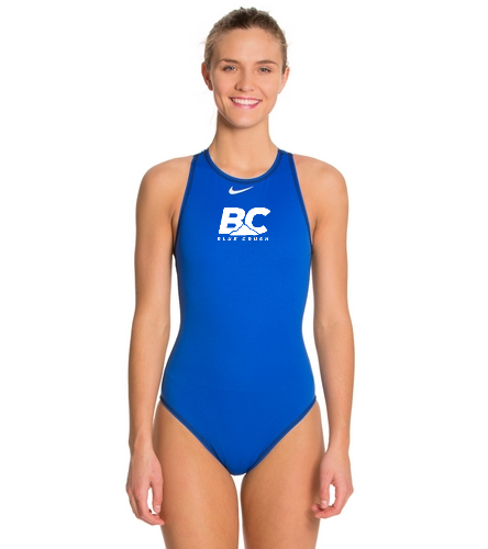 Blue Crush Women's Polo Suit - Nike Women's High Neck Tank Water Polo Suit