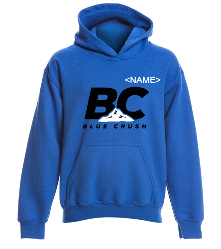 Youth Blue Hoodie - SwimOutlet Youth Heavy Blend Hooded Sweatshirt