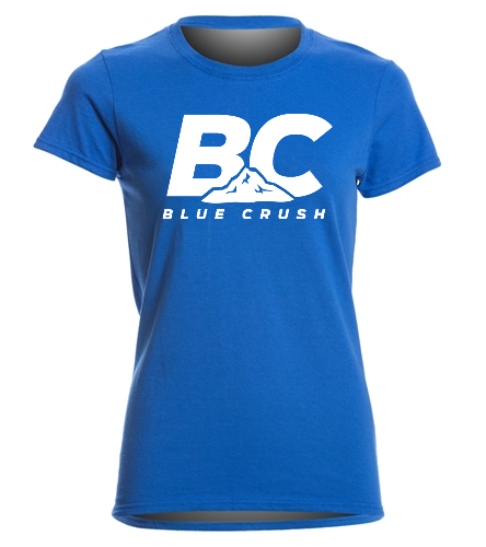 BCA Women's Royal Tee - SwimOutlet Women's Cotton Missy Fit T-Shirt