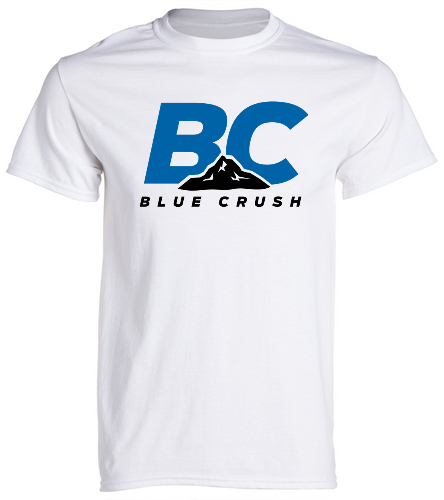 BCA White Tee - SwimOutlet Cotton Unisex Short Sleeve T-Shirt