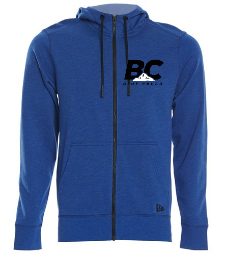 BCAC Tri-Blend  - SwimOutlet New Era® Tri-Blend Fleece Full-Zip Hoodie